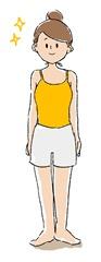 体の歪み、姿勢の矯正
