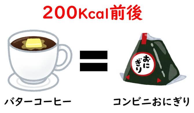 バターコーヒー1杯のカロリー
